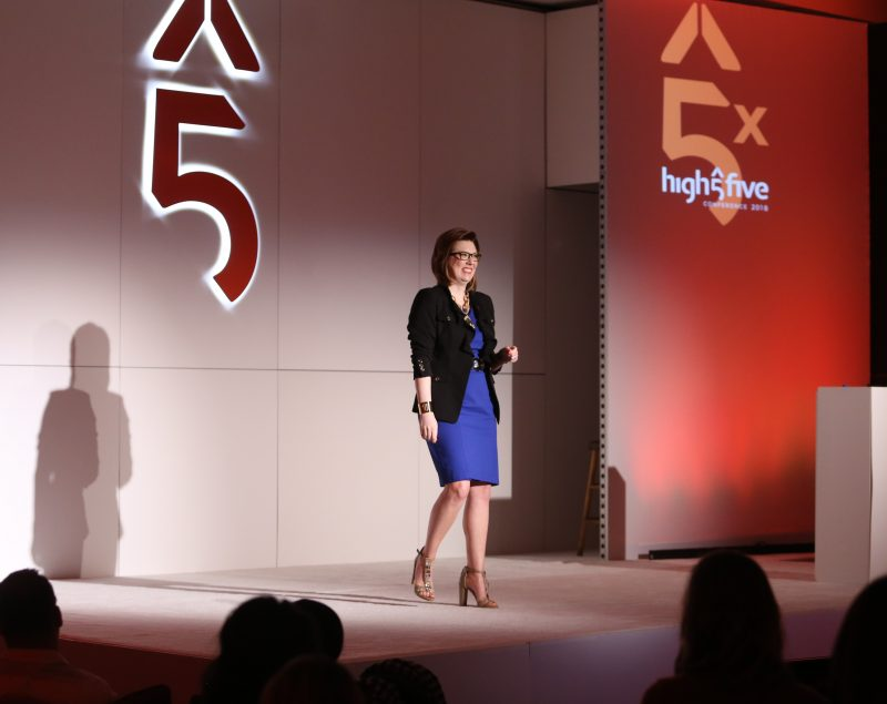 Meredith at High 5 Conference