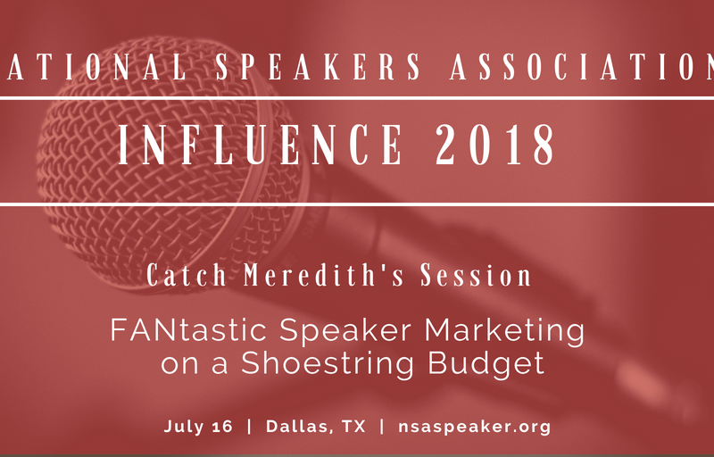 NSA Influence 2018 Meredith's Session