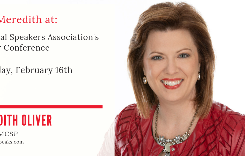 National Speakers Association Winter Conference