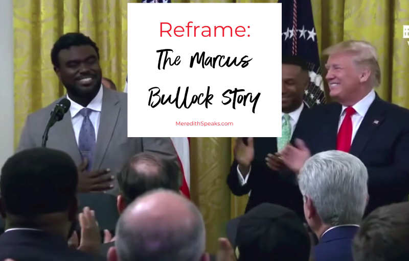 Marcus Bullock image at White House